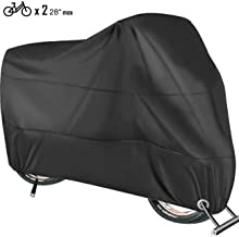 HCFGS Bike Cover Waterproof, Bicycle Cover Outdoor 210D...