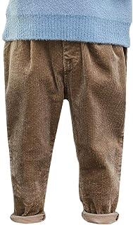 HOSD Pantalones Casuales para niños Invierno 2019 Pana niños más Pantalones cálidos de Terciopelo Pantalones para niños de...