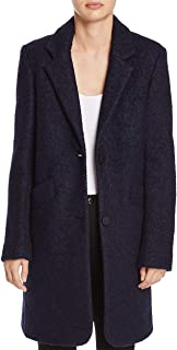 Womens Paige Pressed Boucle Two-Button Notch Collar