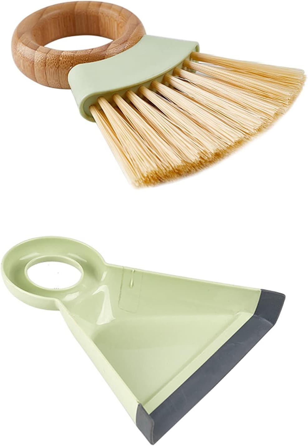 XinLuMing Wooden Handle OFFicial shop Broom Mini Desktop Househol Dustpan Set Max 85% OFF
