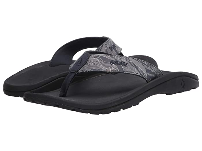 'Ohana Pa'i  Shoes (Trench Blue/Pahoehoe) Men's Sandals