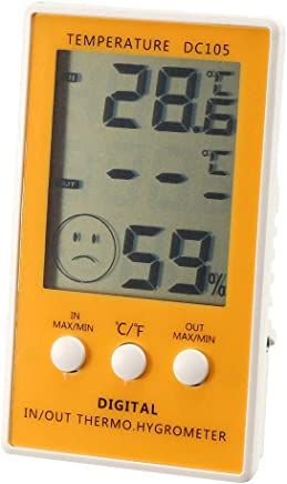 uxcell 数字湿度计室内温度计湿度计 DC105 a19010400ux0345
