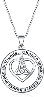 Best celtic knot necklace silver Reviews