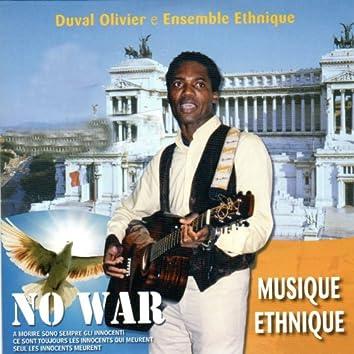 No War (feat. Ensemble Ethnique)