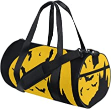 FANTAZIO Gym Duffel Bag Halloween Castle Vleermuizen Mens Gym Duffel Bag