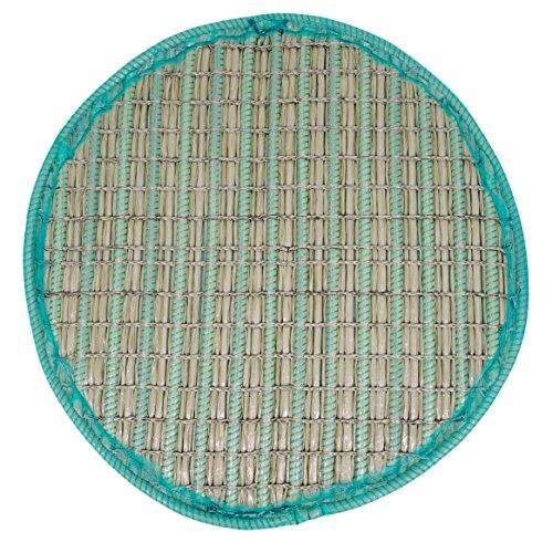 KOITEC Professional Pflanzinsel Teich, rund, schwimmend, 120cm – schöne Gartenteich-Atmosphäre mit Teichinsel, Pflanzkorb, Pflanzschale – Reduzierung von Algen & Ruhezone für Koi durch Pflanzeninsel