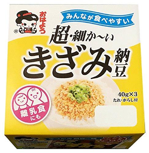 ヤマダフーズ『超・細か〜いきざみ納豆ミニ3』