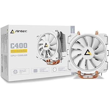 Antec ホワイトLED搭載 サイドフロー型空冷CPUクーラー