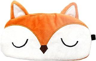 HXINFU Lovely Rabbit Eye Mask For Sleeping Women Travel Eye Mask For Airplane