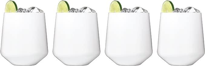 white drinkware