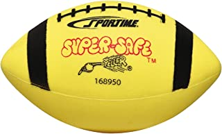 Sportime Super-Safe Youth Football,  Yellow and Black
