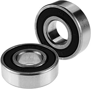 6203 RS Hub Rubber Sealed Higher Speed Ball Bearing x 2 Free P&P