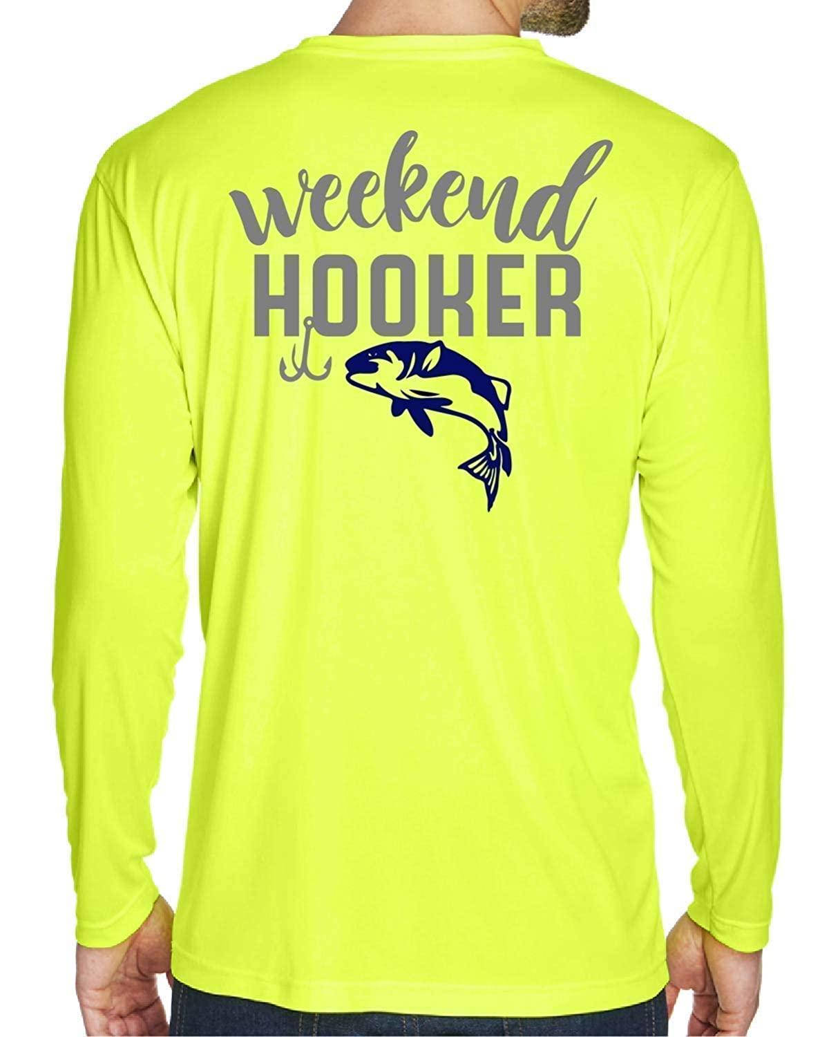 Industry No. 1 Weekend Hooker Fishing Shirt quality assurance Long Cool T-shirt Funny Dry Sleeve