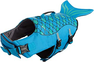 BINGPET Dog Life Jacket with Reflective Stripes - Pet Life Vest for Swimming – Adjustable Dog Saver Life Jacket for Small to Large Dogs