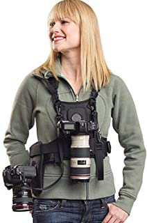 Dual Camera Holster Strap for Canon Nikon, Sevenoak Multi Carrying Chest Vest System for Canon 6D 600D 5D2 5D3 Nikon D90 S...