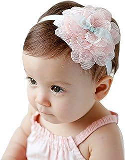Bébé fille Gerbra fleur /& Diamante doux bandeau jusqu/'à 2yrs choisis ta couleur