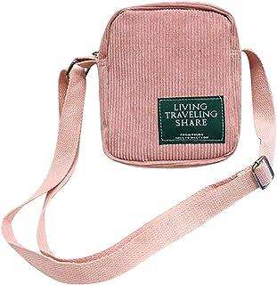 Fanspack Crossbody Bag Vintage All-Match Shoulder Bag Mini Coin Pouch Messenger Bag Purse
