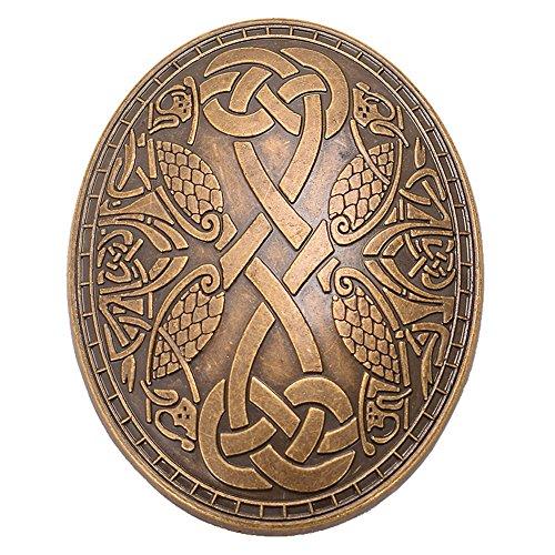 GRACEART Mittelalterlich Wikinger Brosche (1 x Stück)