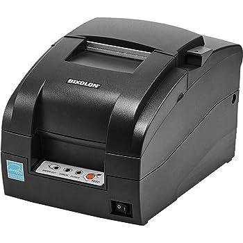 Bixolon SRP-275IIICOSG Series Srp-275III Impact Printer, Serial Interface, USB, Auto Cutter, Black (Renewed)