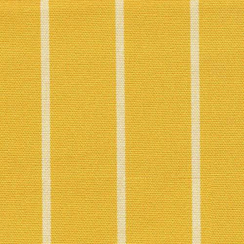 NOVELY Aragon Duo Toledo Premium Outdoor-Stoff dralon gestreift lichtecht: Farbe: 33 Sonnengelb