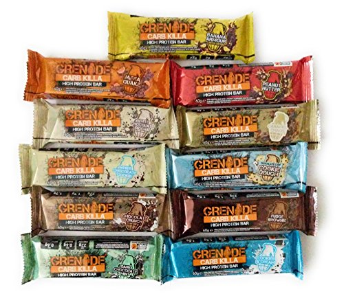 Grenade Carb Killa Protein Bars ALL 11 FLAVOURS