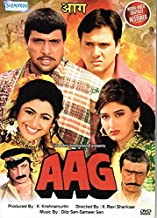 Aag (Brand New Single Disc Dvd, Hindi Language, With English Subtitles, Released By Shemaroo)