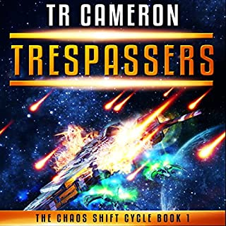 Trespassers audiobook cover art
