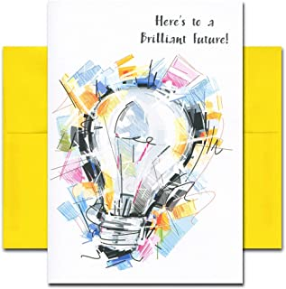 Congratulations Cards: Brilliant Future - boxed 10 cards & env Made in USA by CroninCards