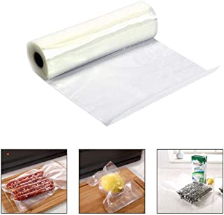 KOBWA Vacuum Food Sealer Bags, Vacuum Sealer Rolls Food Storage Saver Freezer Bag, Ideal Meat, Sausages, Vegetables, Sous Vide (1 Piece, 25x500cm)
