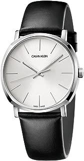 Calvin Klein Posh Silver & Black Swiss Men's Watch