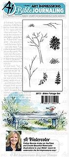 طوابع مطاطية بألوان مائية للكتب WC5073 من Art Impressions