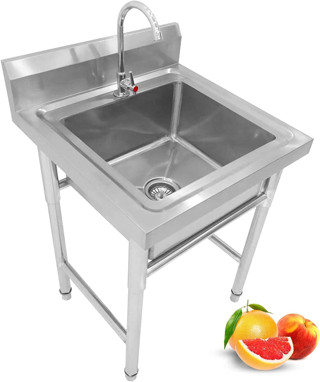 BSQT Movable Al sold out. Stainless Steel Utility Commercial ,Kitch Sink Indefinitely