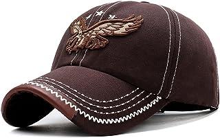SSDZSW جديد 3d النسر المطرزة قبعة البيسبول قبعة هيب هوب شقة مرونة قاعدة قبعة بيسبول الرجال والنساء قبعة بيسبول قبعة أبي (C...