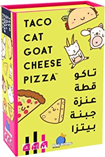 Taco Cat Goat Cheese Pizza AR/EN, Blue Orange Games, yellow, TCGENAR01