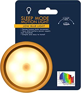 Sunflower Sleep Mode Motion Light. Optimized for No Blue Light, Helps Maintain Healthy Sleep Patterns and Natural Melatonin Production