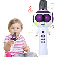 Mbuynow Karaoke Machine for Kids with Speaker (Purple)