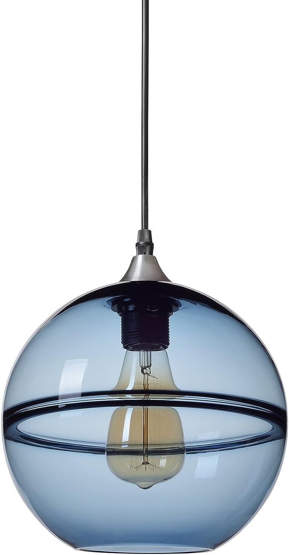 Casamotion Max 90% OFF Pendant List price Lighting Handblown Glass Hanging Drop Light