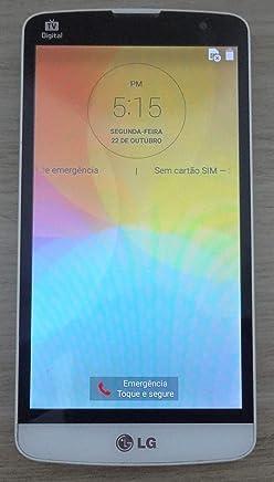 SMARTPHONE LG L PRIME DUAL CHIP TV D337 TITANIUM 8GB EXCELENTE