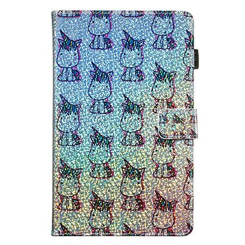 Candy House - Funda para tablet Samsung Galaxy Tab A de 7,0 pulgadas SM-T280 SM-T285, con purpurina y función atril, cierre magnético (Baby...