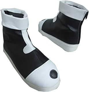 Killua Zaoldyeck White Black Halloween Short Cosplay Shoes Boots
