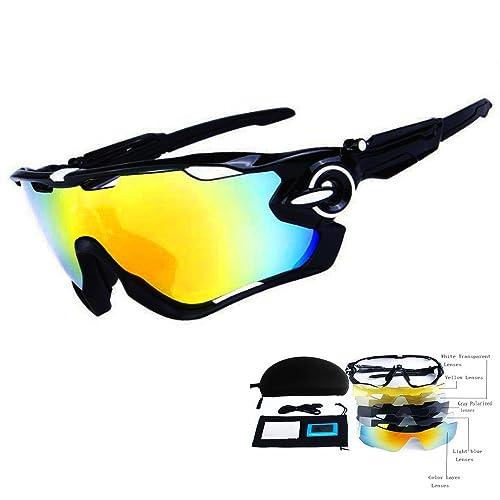 b9f6d4b3f2f TOPTOJOKLJGDGHJH Men s Sports Cycling Sunglasses Women s UV Protection Polarized  Glasses Fishing Golf Baseball Men s Sports Goggles