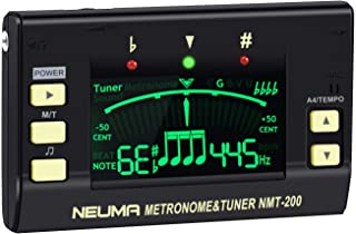 NEUMA Metronome Tuner for Guitar, Bass, Violin, Ukulele, Chromatic Instruments, 3 in 1 Digital Tuner Tone Generator