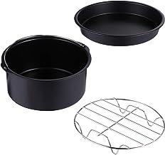 Angoily 3Pcs 6 Polegadas Acessórios Máquina de Lavar Louça Segura Revestimento Antiaderente Fritadeira Fritadeira Ar Acess...