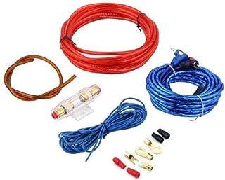 1 Set Car Power Amplifier Car Speaker Woofer Cables Amplifier Installation Kit for Automobile Subwoofer Set Line with Fuse