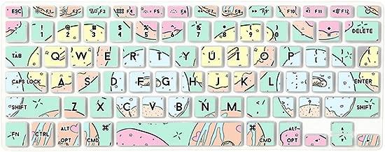 Flapjacks Stylish Designer Laptop Keyboard Cover for Apple Magic Keyboard in Donut Pattern