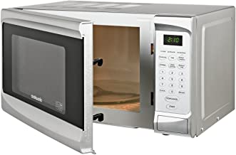 Brand Cookworks - Microondas estándar (700 W, EM7, 17 L), color plateado