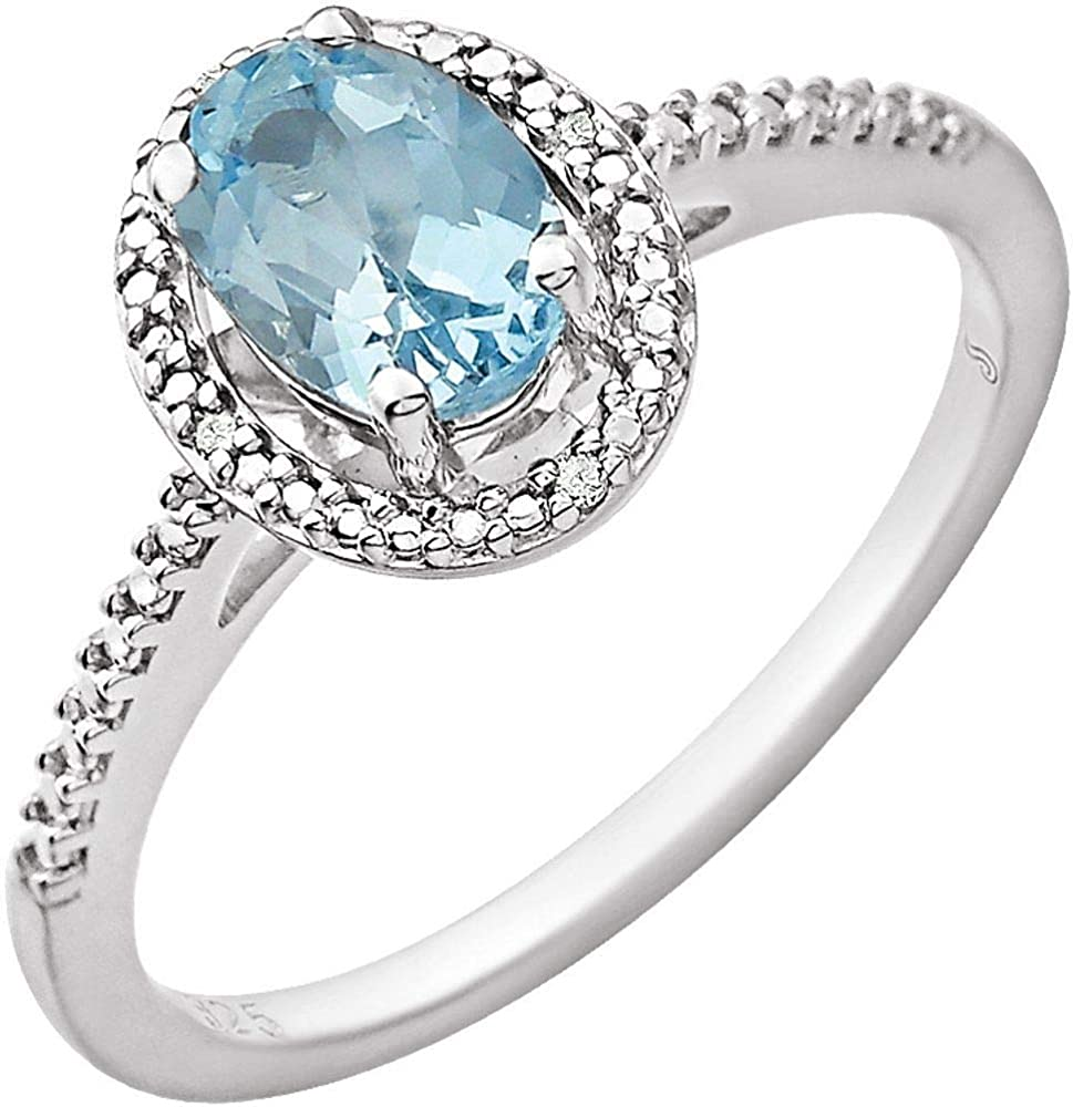 Ryan Jonathan Fine Jewelry Sterling Silver Sky half and Limited price sale Blue Topaz Di