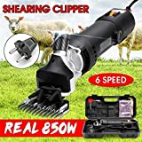 AIAIⓇ 850W Sheep Shearing Set Electric Sheep Shears 2400RPM Grooming Shearing Machines Sheep...