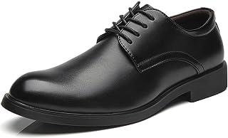 [フォクスセンス] 革靴 ビジネスシューズ 紳士靴 ラウンドトゥ カジュアル メンズ 外羽根 本革 通気性抜群 軽量 滑り止め 耐摩耗 柔らかい
