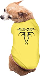 MayFay Fear Factory Soul Hacker Regenerate Band Dog Pants Yellow Large